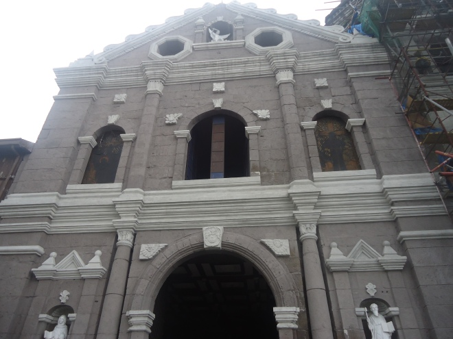 Facade of the Our Lady of the Abandoned, Sta. Ana, Manila