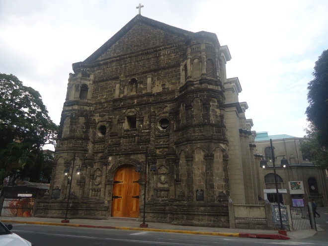 Facade of the Our Lady of Remedies Church, Malate, Manila